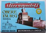 MM 47 Obere Burg Heidelberg Micromodels London