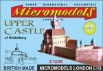 MM 47 Upper Castle Heidelberg Micromodels London