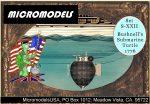 S XXII Submarine Turtle MicromodelsUSA