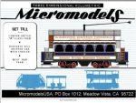 TR 2 London Trams MicromodelsUSA