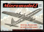 AV I Brabazon and Comet 1.8 Micromodels