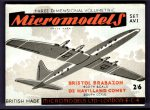 AV I Brabazon and Comet 2.6 Micromodels