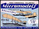 AV II Wright & Bleriot Micromodels