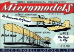 AV II Wright & Bleriot Micromodels London