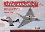 AV III Canberra & Avro 707B Micromodels London
