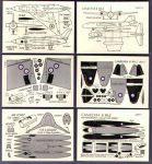 AV III Canberra & Avro 707B cards Micromodels
