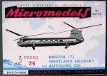 AV IV Bristol, Sikorsky & Autogiro Micromodels
