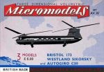 AV IV Bristol, Sikorsky & Autogiro Micromodels London