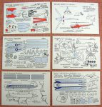 AV IV Bristol, Sikorsky & Autogiro cards Micromodels