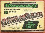ARC XIV Old London Bridge Micromodels