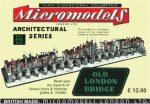 ARC XIV Old London Bridge Micromodels London