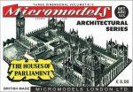 ARC XIX Houses of Parliament Micromodels London