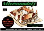 ARC XV Bull Hotel MicromodelsUSA