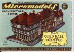 ARC XVI Guild Hall Micromodelle Heidelberg