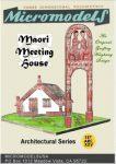 ARC XXV Maori Meeting House MicromodelsUSA