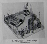 ARC XXVI Maori Village Bluebottle leaflet Micromodels