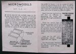 LS II Loco Shed sheet Micromodels