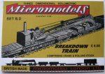 BD Breakdown Train Micromodels London
