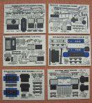 BD Breakdown Train cards Micromodels