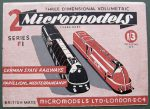 F I German and PLM Railways Micromodels