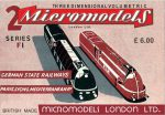 F I German and PLM Railways Micromodels London