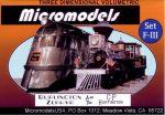 F III Huntington & Zephyr MicromodelsUSA