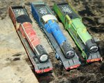 M 1 Famous British Locos built by Justin A. Olson