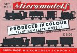 M III Tank Engines Micromodels London