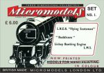 NS I Flying Scotsman Micromodels London