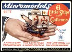 S I Six Little Ships and Galleons 1.8 Micromodels