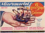 S I Six Little Ships and Galleons 2.6 Micromodels
