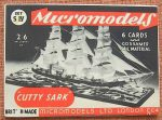 S IV Cutty Sark 2.6 Micromodels