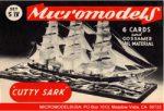 S IV Cutty Sark MicromodelsUSA