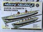S IX Queen Elisabeth & Mauretania Autocraft