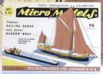 S XI Sailing Barge Autocraft