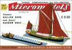 S XI Sailing Barge Micromodels London