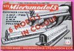 X Passenger Coaches 1.9 Micromodels