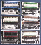X Passenger Coaches cards Micromodels