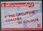 X2 Pre-Grouping Coaches Micromodels