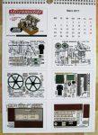 BE Beam Engine Calendar 2017 Micromodels London