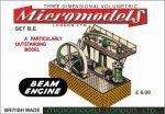 BE Beam Engine Micromodels London