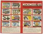 Broadway catalogue Micromodel Kits side 1