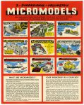 Broadway catalogue Micromodels 2 side 1