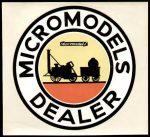 Dealer Window Sticker Micromodels