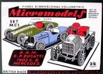 MC 1 Cars Micromodels