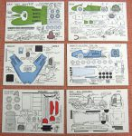 MC 1 Cars cards Micromodels