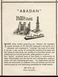 OW Abadan Oil Well Catalogue Festival of Britain