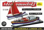S XIV Two Life Boats Micromodels London