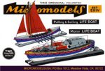 S XIV Two Life boats MicromodelsUSA