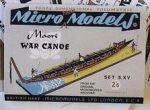 S XV Maori War Canoe Autocraft